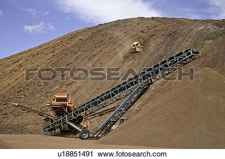 Stock Photography of Volcanic quarry at the Nasko volcanic Cone in.