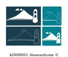 Volcanic cone Clip Art Royalty Free. 11 volcanic cone clipart.