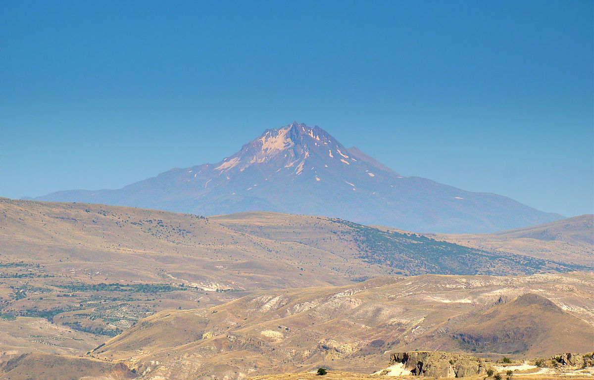 Mount erciyes clipart #1