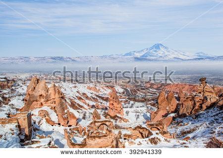 Erciyes Mountain Stock Photos, Royalty.