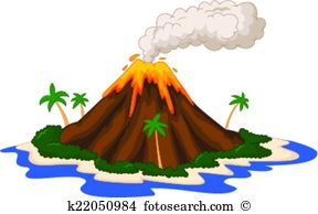 Volcanic eruption Clipart Vector Graphics. 315 volcanic eruption.