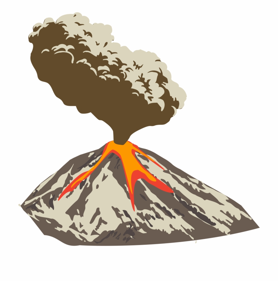 Download Volcano Png Clipart For Designing Projects.