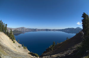 Crater lake clipart.