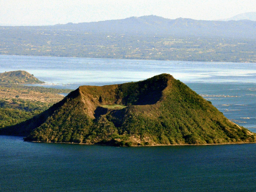 Taal volcano clipart.