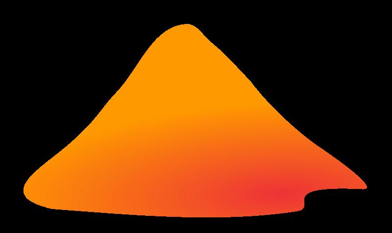 Mountain peak clip art free clipart images.