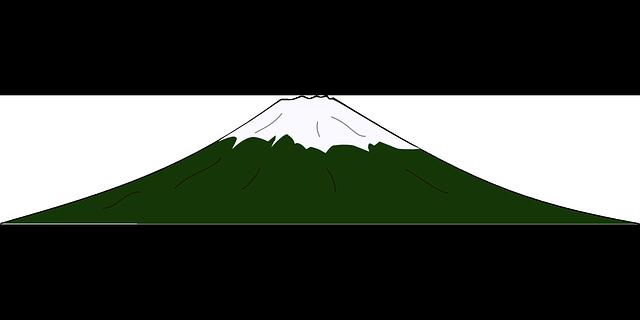 Volcano, Fuji, Mountain, Peak,.