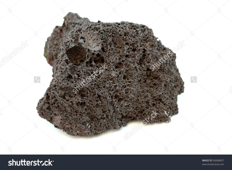 Sample Igneous Rock Scoria Stock Photo 56068837.
