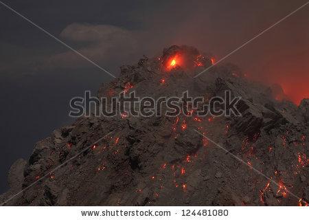 Lava Dome Stock Photos, Royalty.