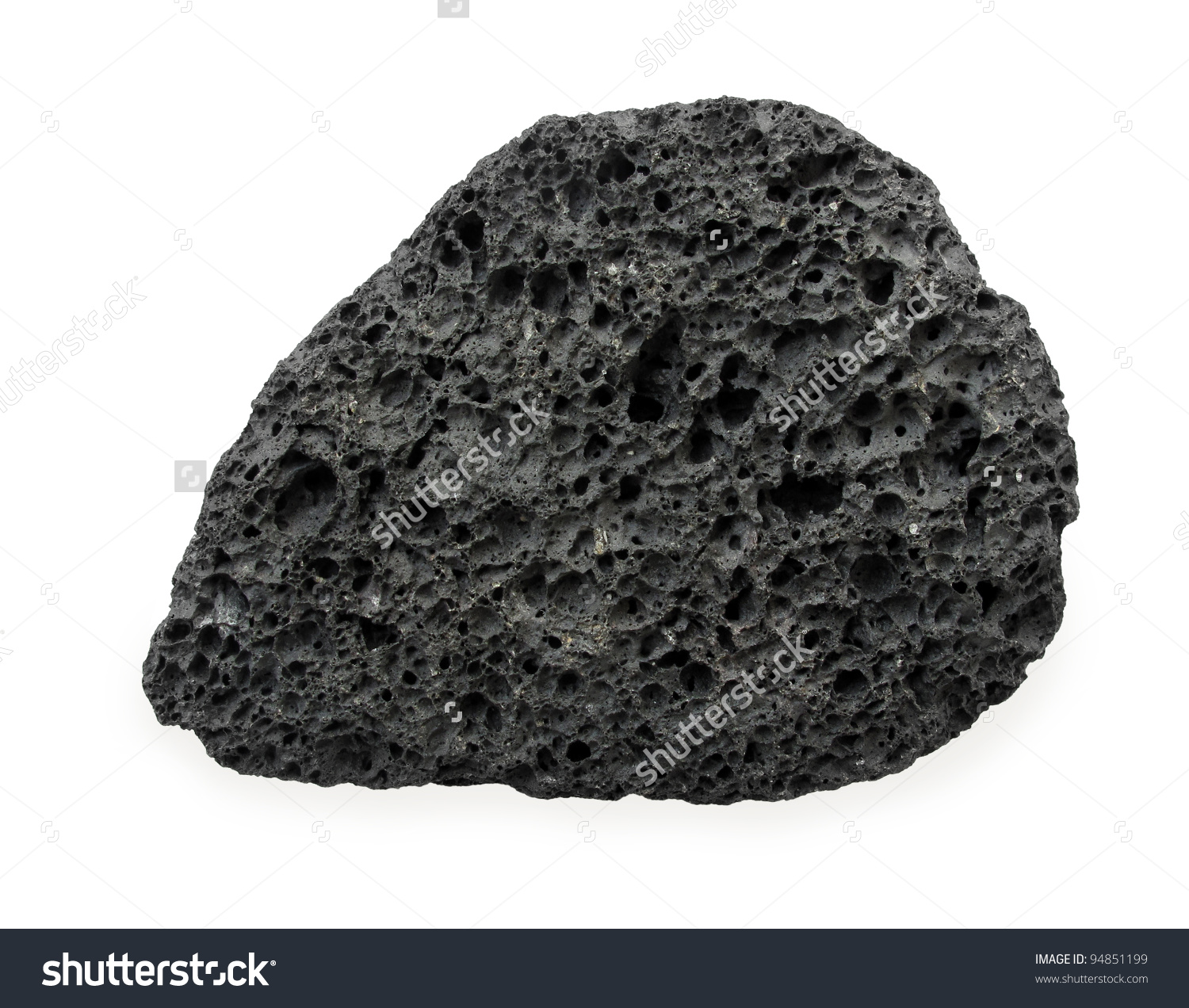 Volcanic Rock Stock Photo 94851199.