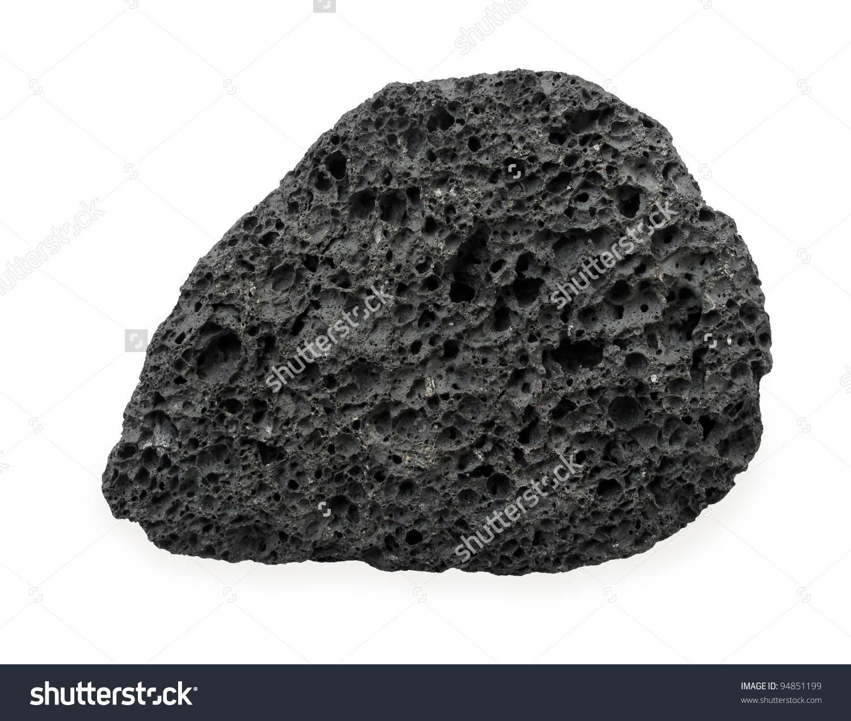 Volcanic Rock Stock Photo 94851199.