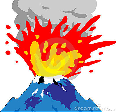 Volcanism Stock Illustrations.