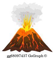 Volcano Clip Art.