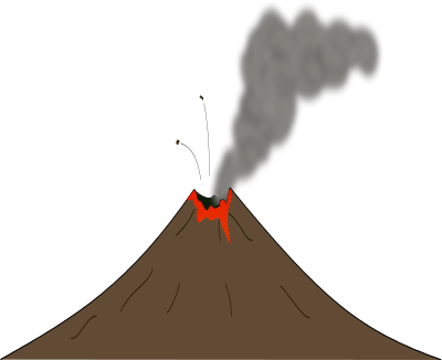 Free to Use & Public Domain Volcano Clip Art.