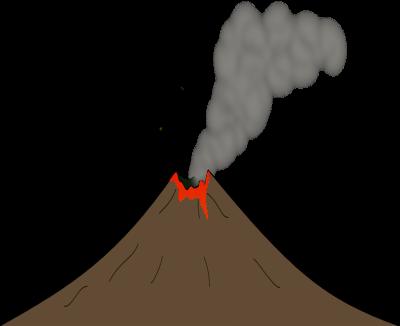 Free to Use & Public Domain Volcano Clip Art.