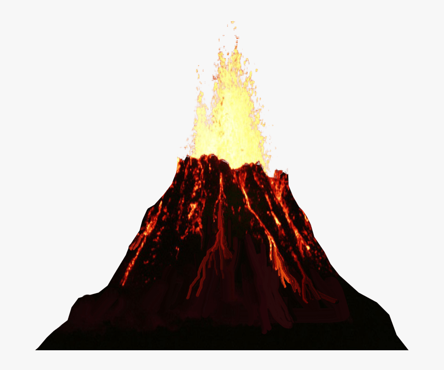Transparent Background Volcano Clipart , Free Transparent.
