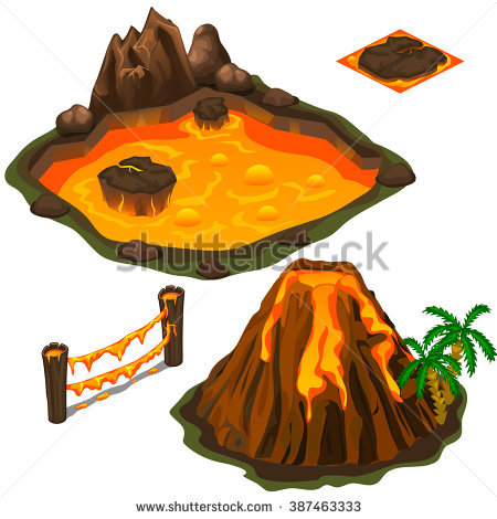 Volcanic Stock Images, Royalty.