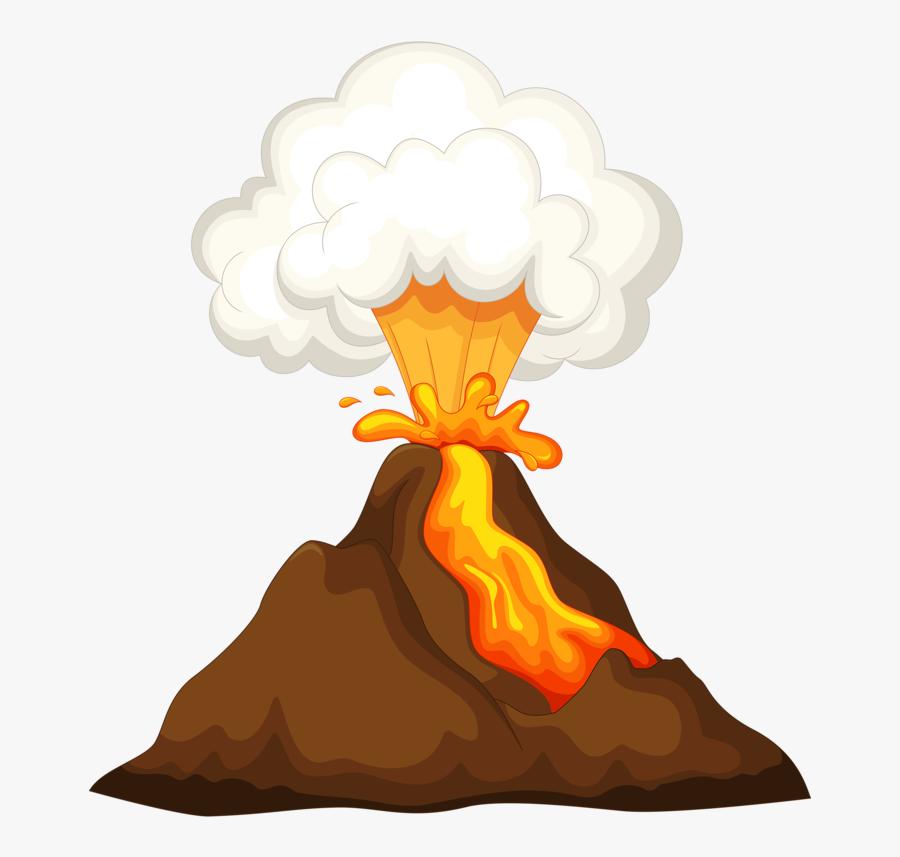 Transparent Volcano Png.