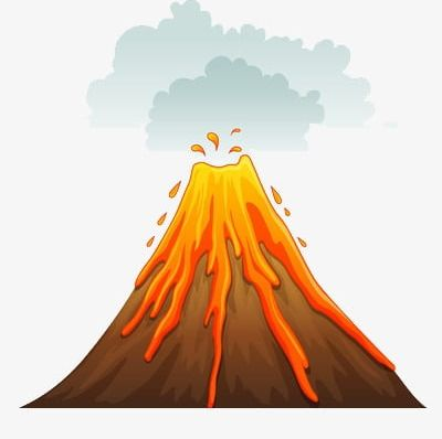 We Are Active Volcano PNG, Clipart, Active Clipart, Are.