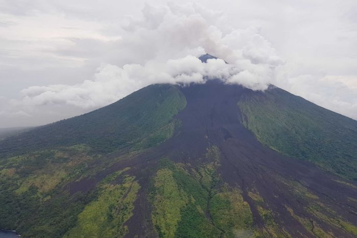 Second PNG volcano eruption in days stretches scarce humanitarian.