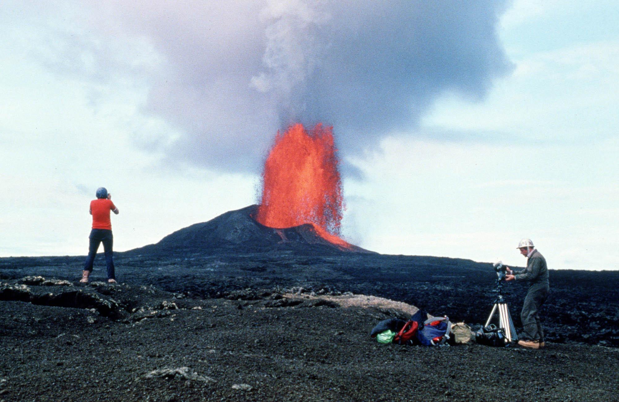 Hawaiian Volcanoes.
