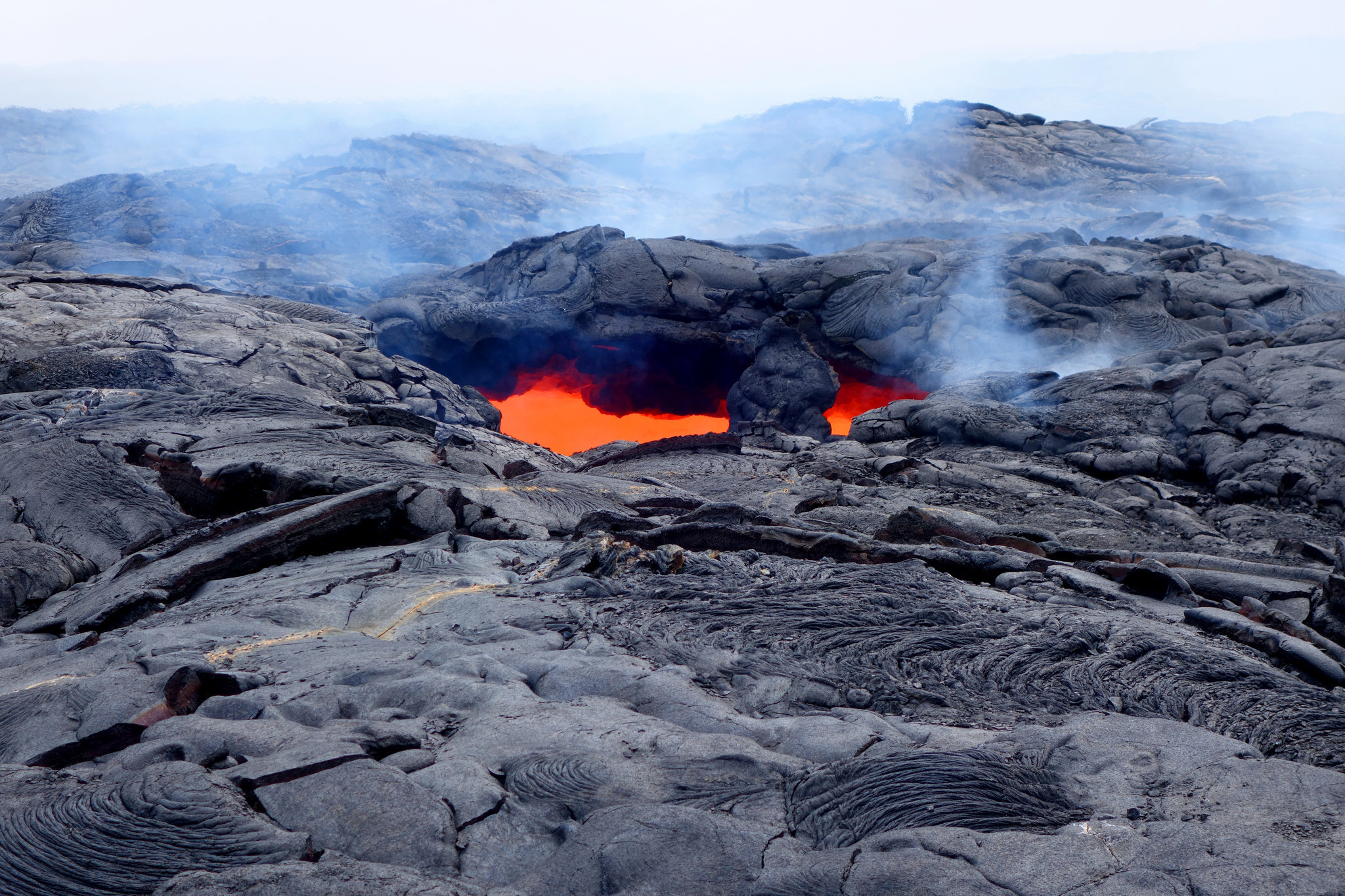The best way to see the volcano on Hawaii Island.