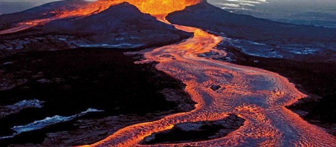 New lava flows open on active Hawaii volcano.