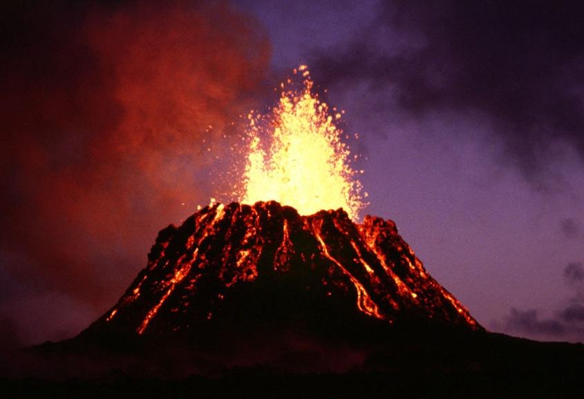 Hawaiʻi Volcanoes National Park.