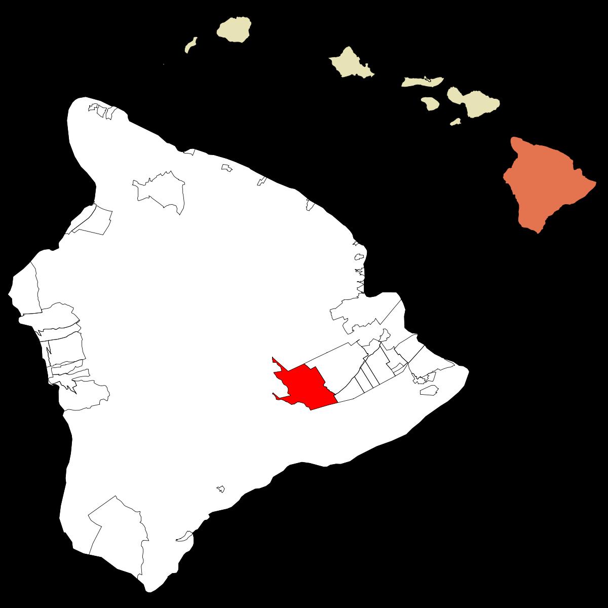 Volcano, Hawaii.
