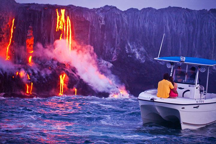 Hawaii Volcanoes National Park on Big Island.