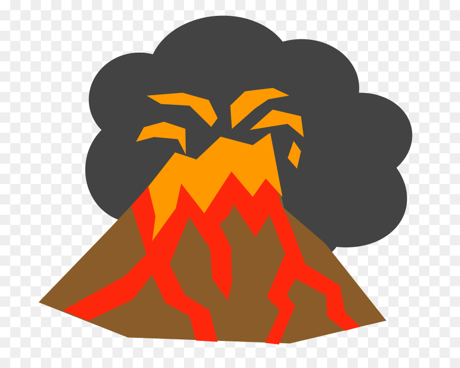 Volcano Cartoon png download.
