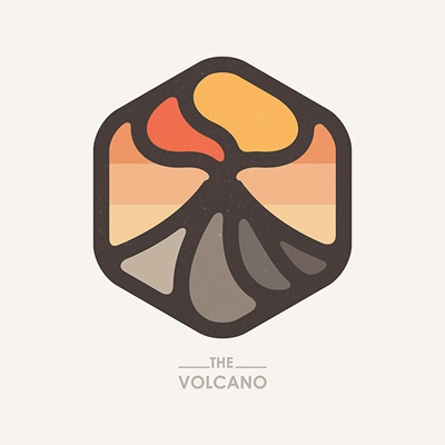 The Volcano logo.