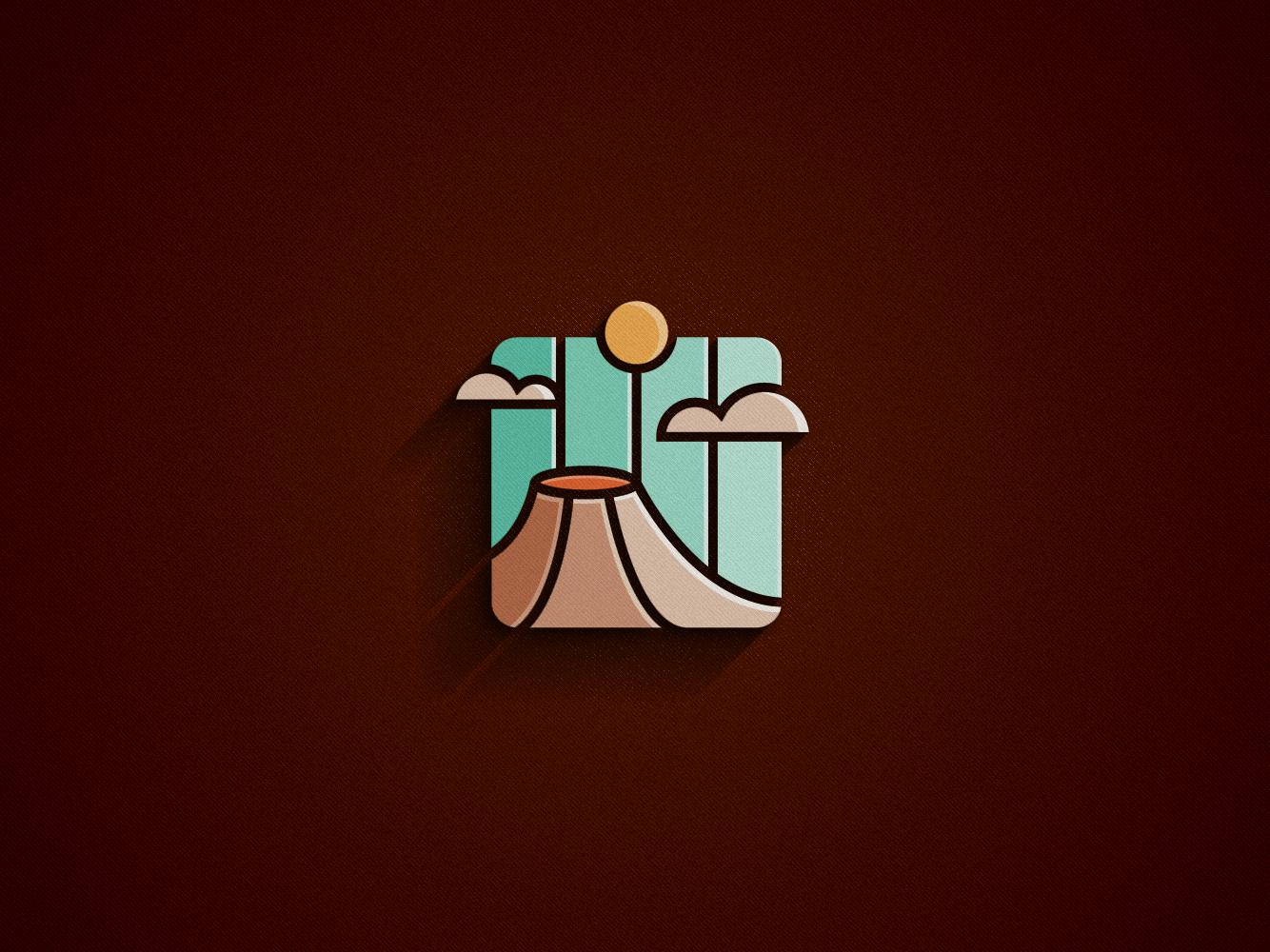 VOLCANO [logo concept] by Monkey Mark on Dribbble.