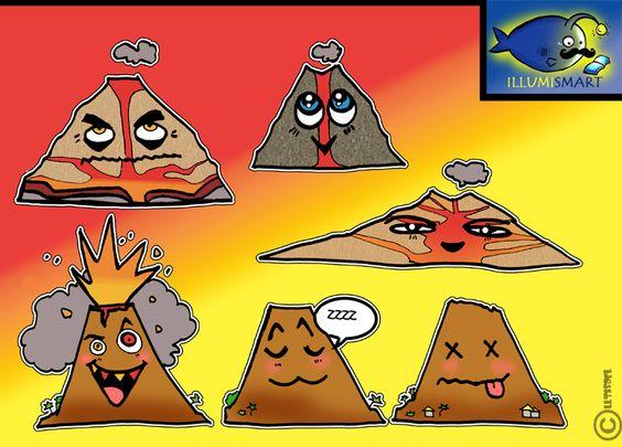 Volcano more clipart #19