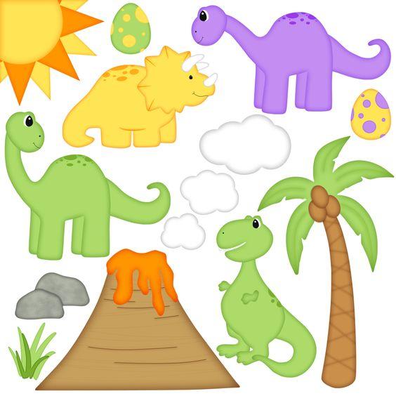 Dinosaur Digital Clipart.