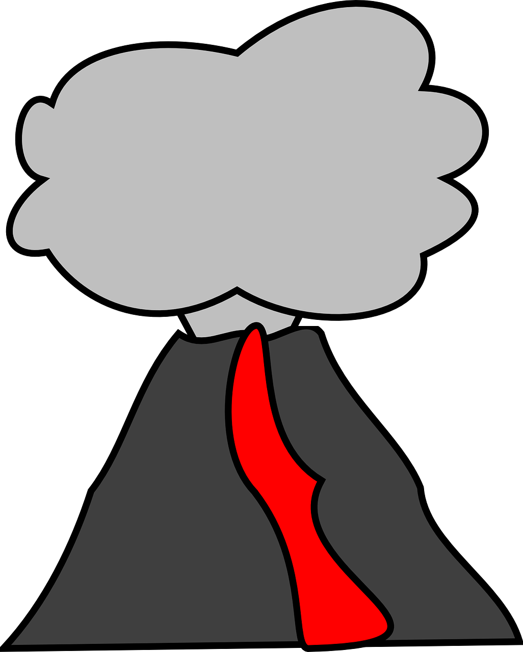 Volcano clip art free clipart images 3 3.