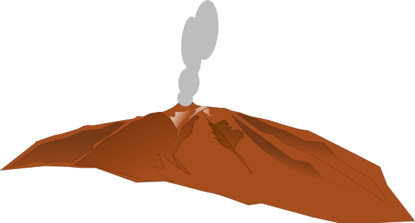Volcano clip art free clipart images 3 2.