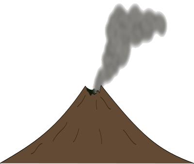 Volcano PNG Transparent Images.