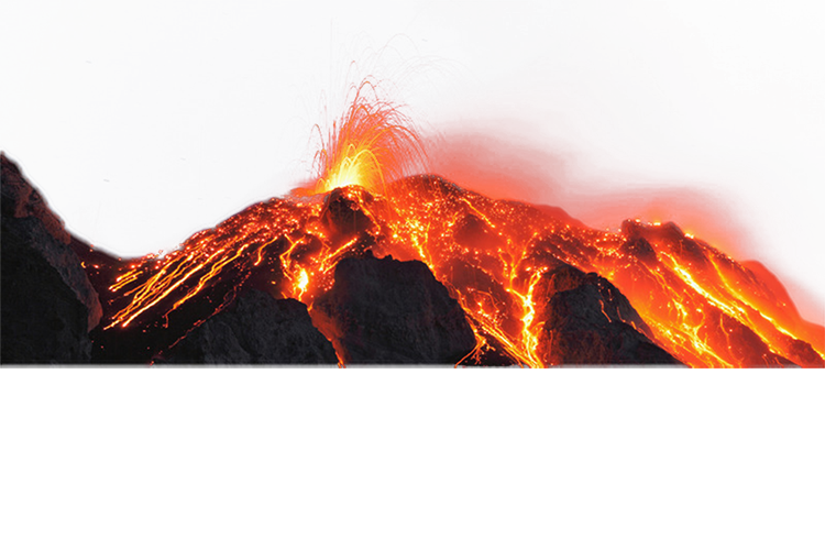 Volcano PNG images free download.