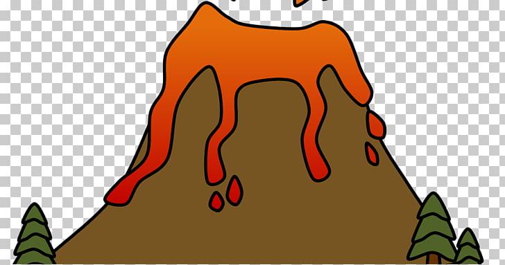 Volcano Lava , volcano PNG clipart.