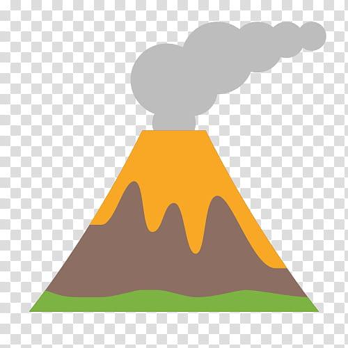 Graphic Design Icon, Volcano, Lava, Actieve Vulkaan, Icon.