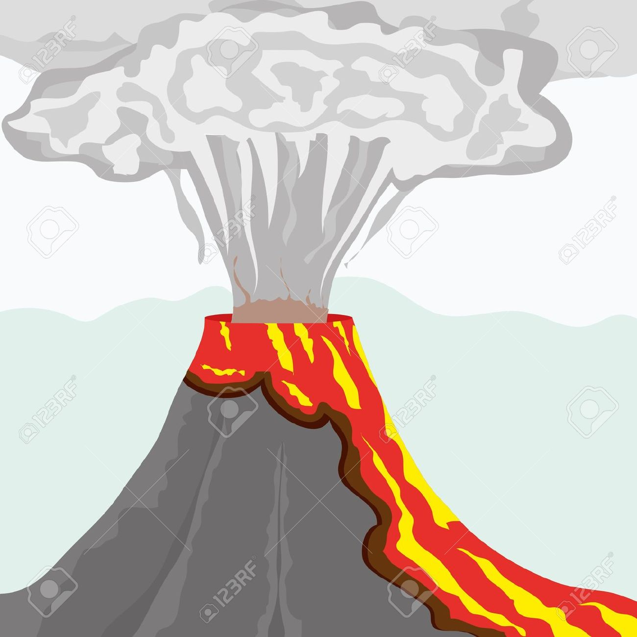 Free Volcano Clipart at GetDrawings.com.