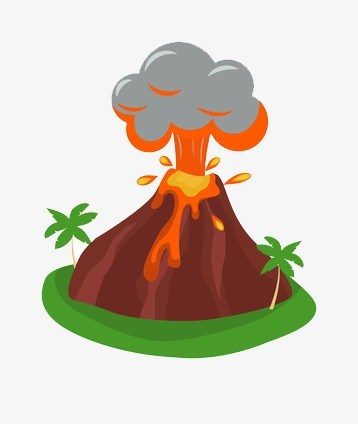 Volcano clipart free 3 » Clipart Portal.