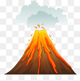 Clipart volcanoes 4 » Clipart Station.