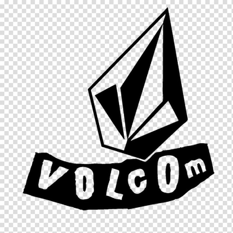 Volcom Decal Logo Sticker Brand, volcom transparent.