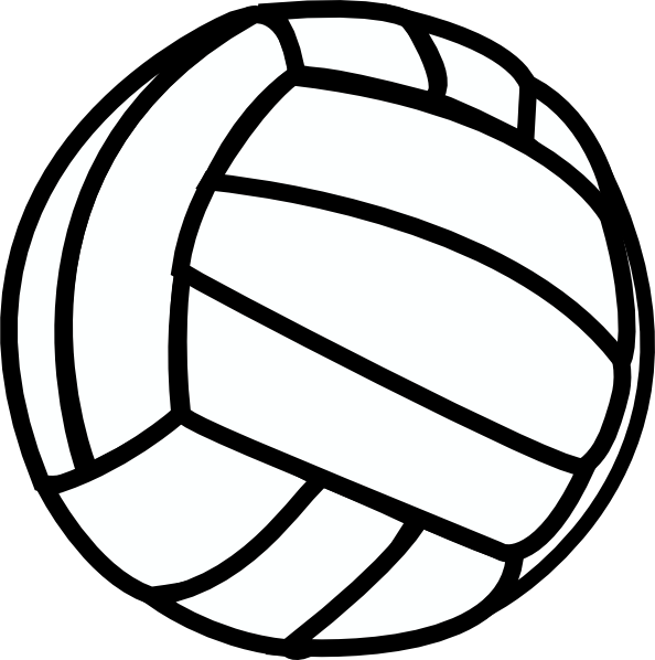 clipart volleyball.