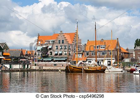 Pictures of Volendam.
