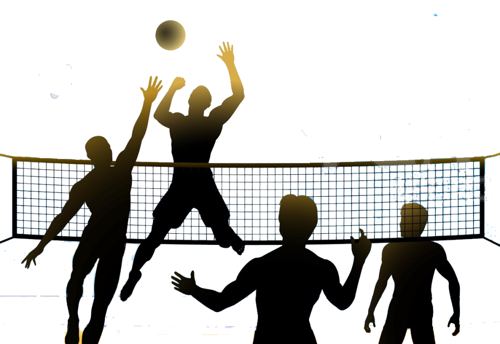Volleyball Cliparts For Free Clipart Service And Use In Png.