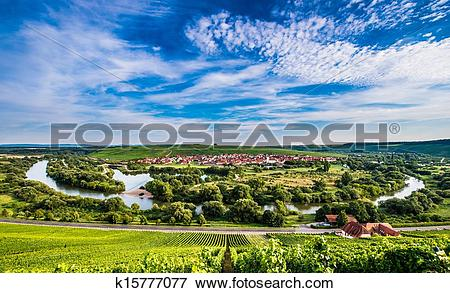 Picture of Mainschleife near Volkach k15777077.