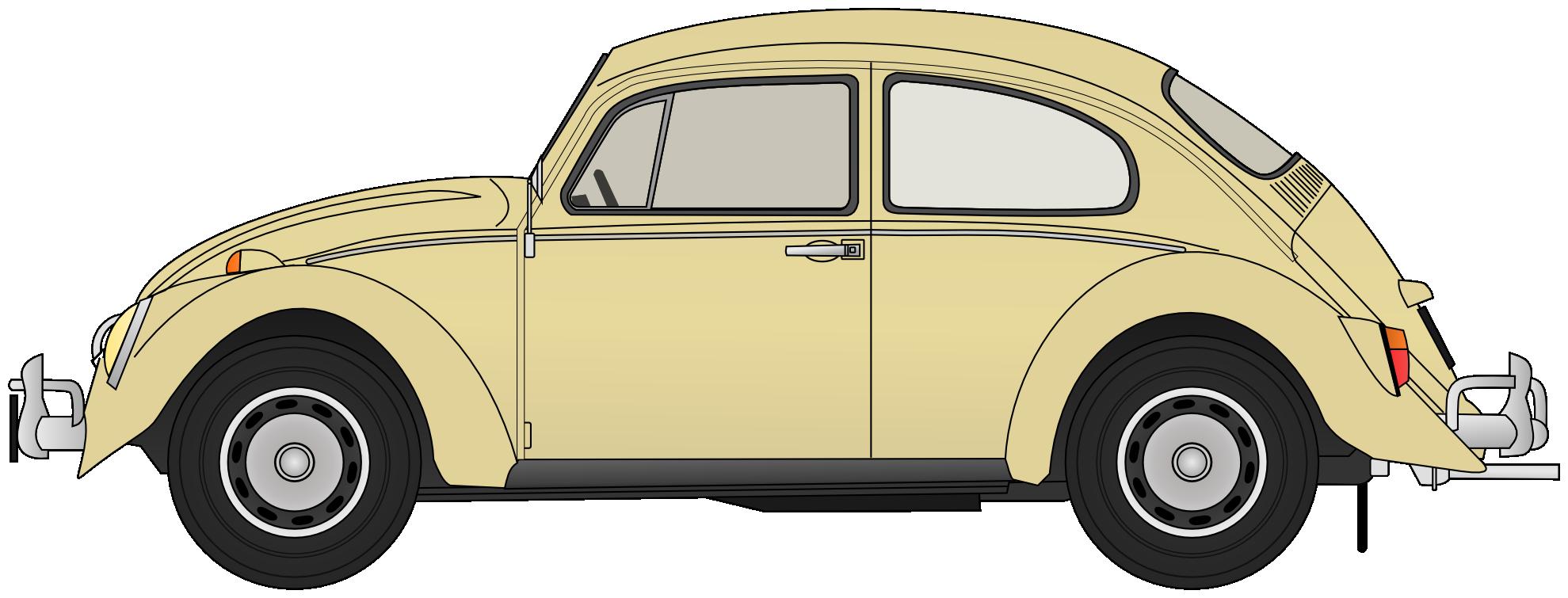 Vw Beetle Clipart.