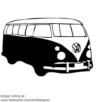 Volkswagen bus flock.